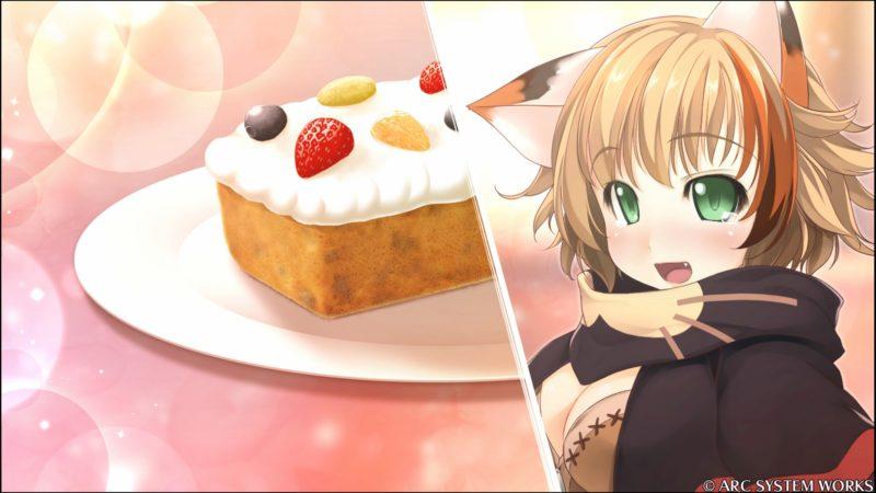獣人とケーキ