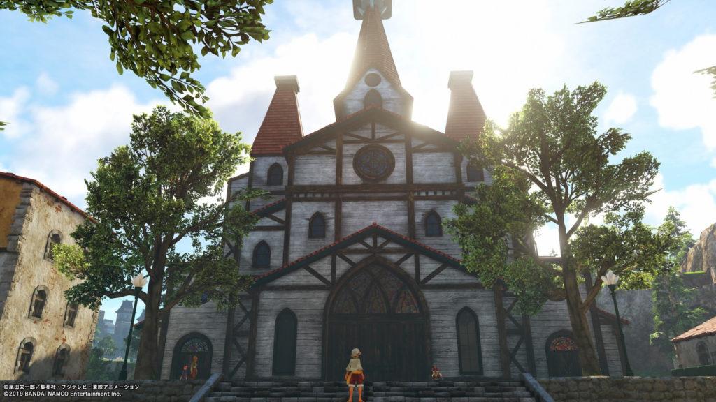 ソーギョク町の教会