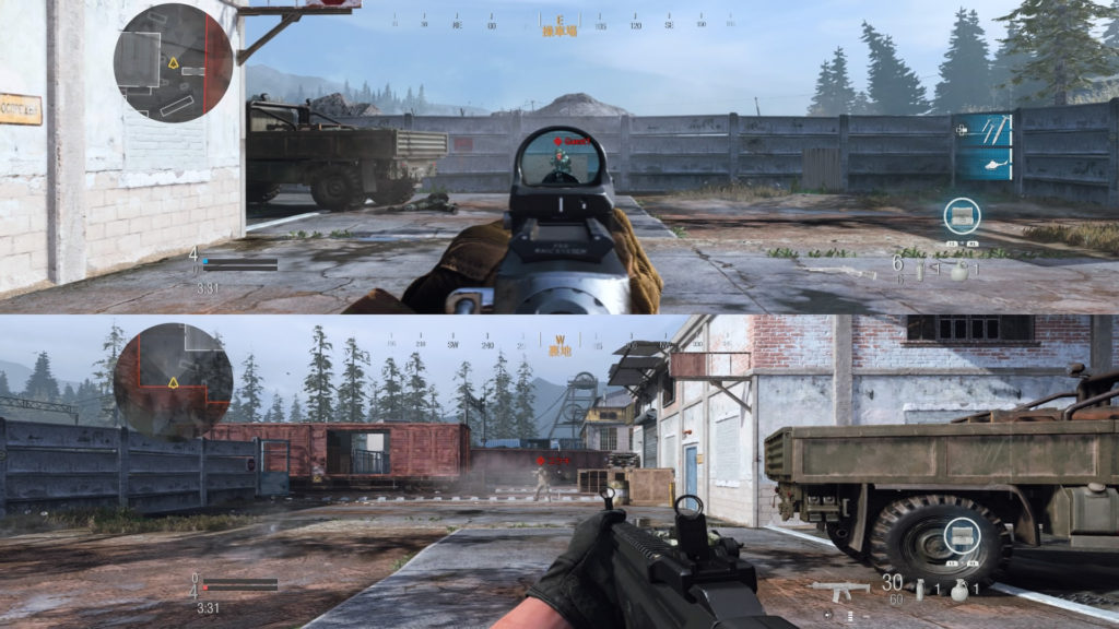 MK2Carbineの射程距離