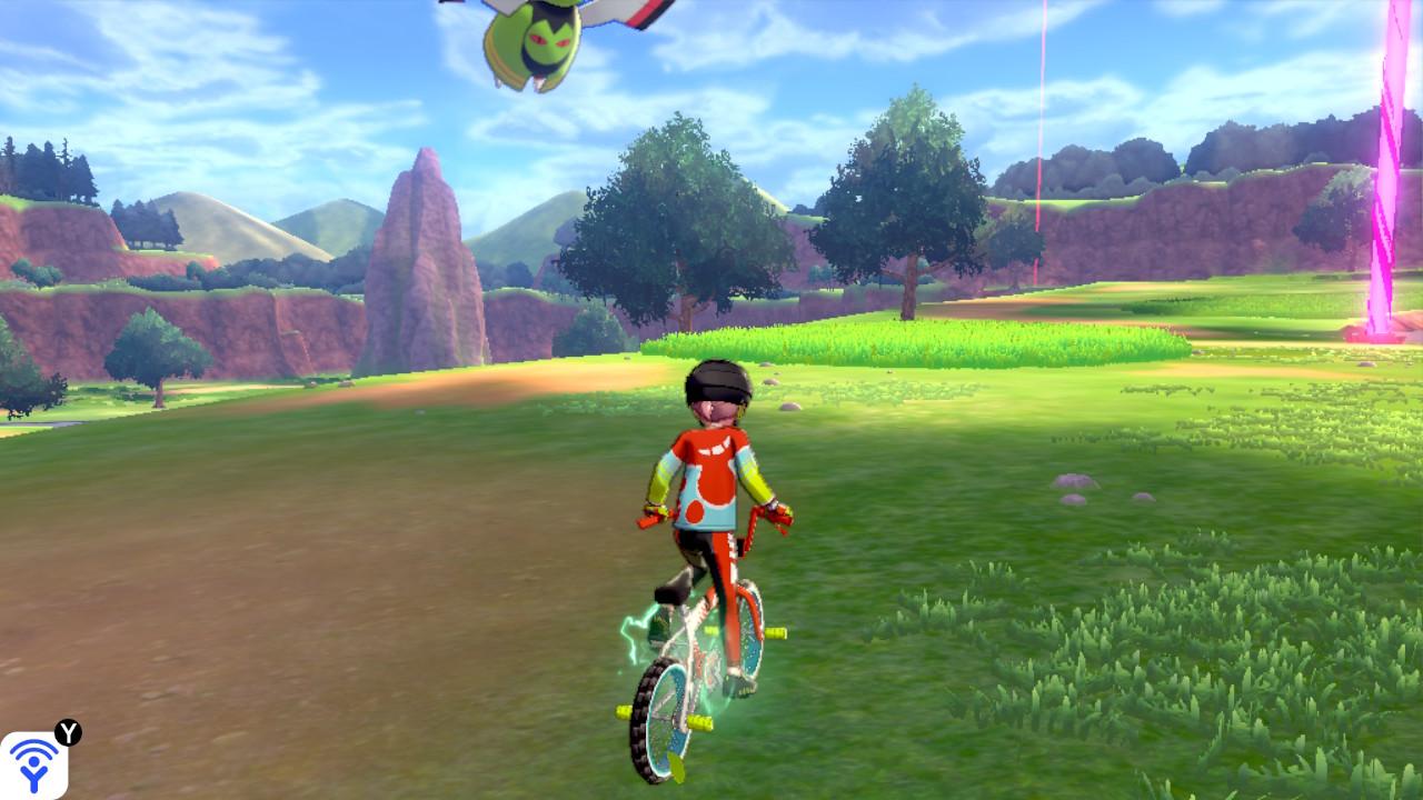 自転車で加速