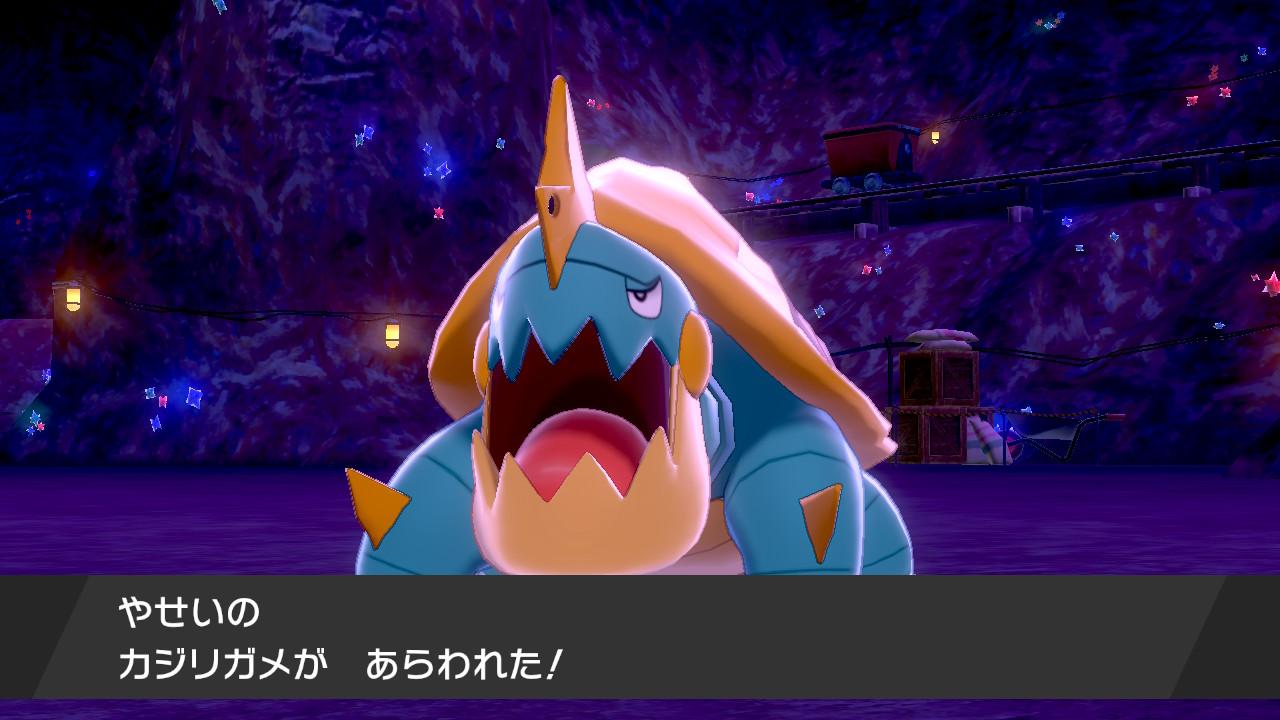 だいにこうざんのカジリガメ