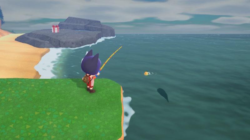 ナポレオンフィッシュの魚影