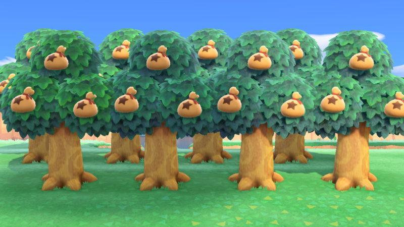 金 なる の 移動 木 あつ 森