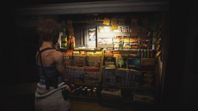 地下鉄駅の売店
