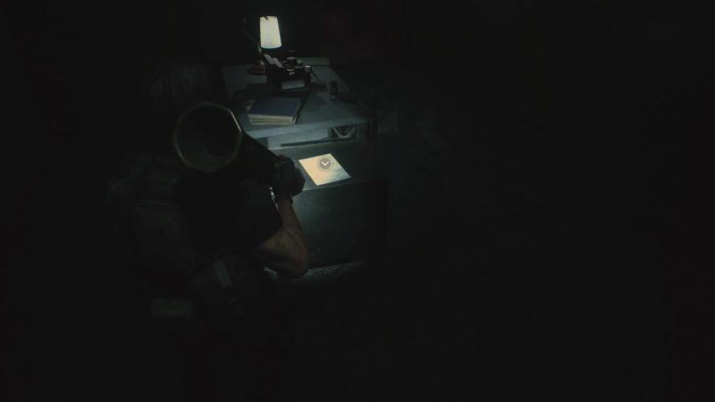 警察署の暗室