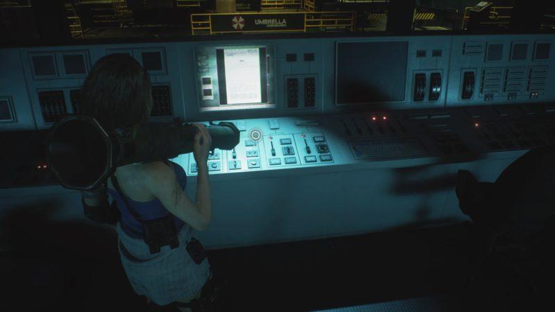 監視室の制御盤