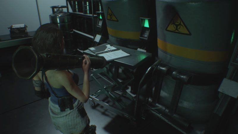 研究所の倉庫