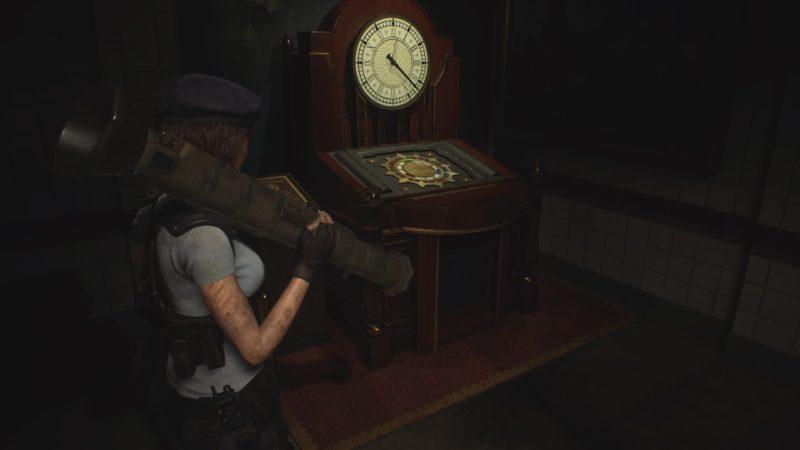 時計ギミック