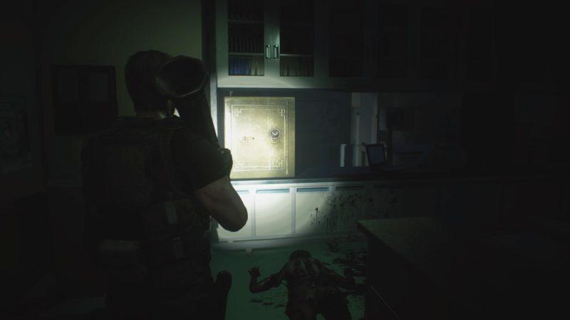 病院の金庫