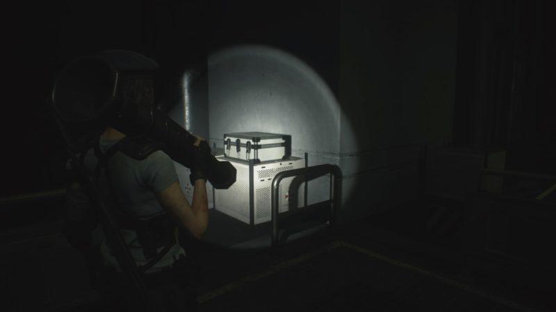 暗闇のアタッシュケース