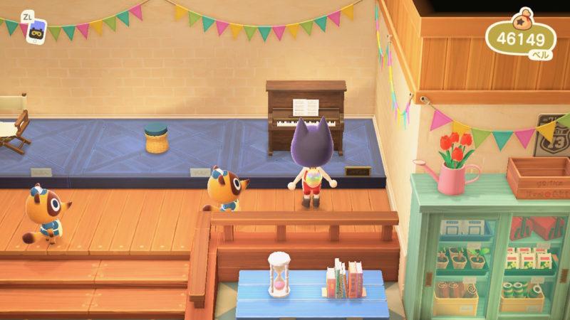 タヌキ商店の家具