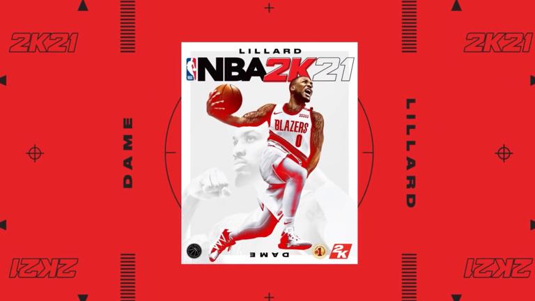 nba 2k21のパッケージ画像
