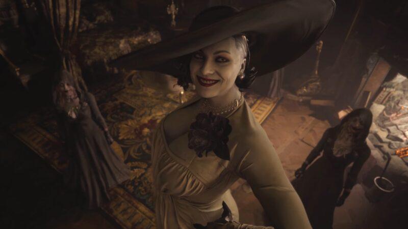 笑うドミトレスク夫人