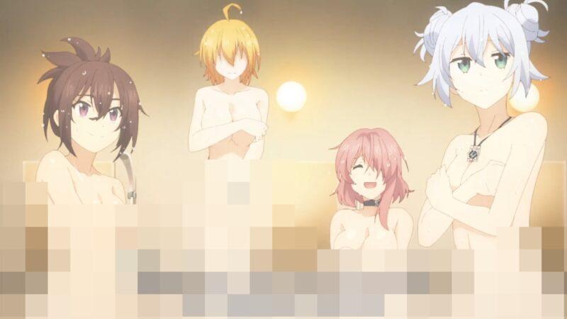 入浴中のエグゼロスたち